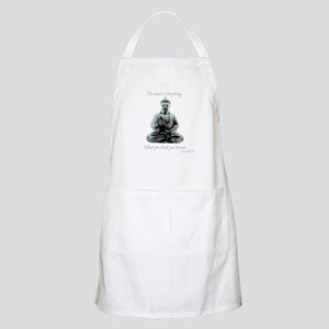 Buddha quote : Mind is Everything Apron
