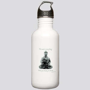 Buddha quote : Mind is Everything Stainless Water