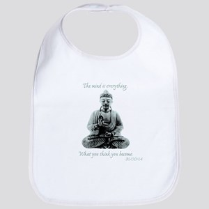 Buddha quote : Mind is Everything Bib