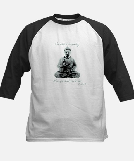 Buddha quote : Mind is Everything Kids Baseball Je