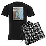 Knots Knots Men's Dark Pajamas