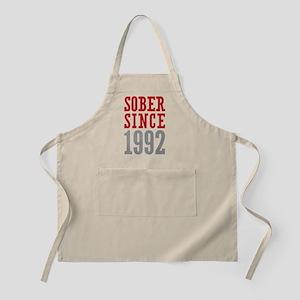 Sober Since 1992 Apron