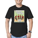 Menu Planning Men's Fitted T-Shirt (dark)