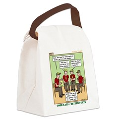 Menu Planning Canvas Lunch Bag