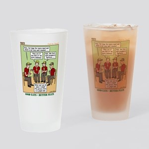 Menu Planning Drinking Glass