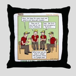 Menu Planning Throw Pillow