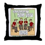 Menu Planning Throw Pillow