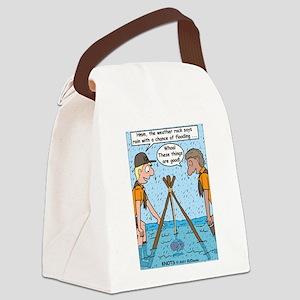 Weather Rock Rain Canvas Lunch Bag