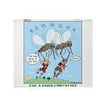 Bug Spray Throw Blanket