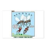 Bug Spray Postcards (Package of 8)