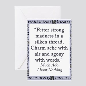 Fetter Strong Madness Greeting Card