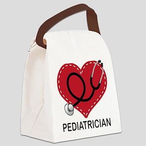Pediatrician Gift Canvas Lunch Bag
