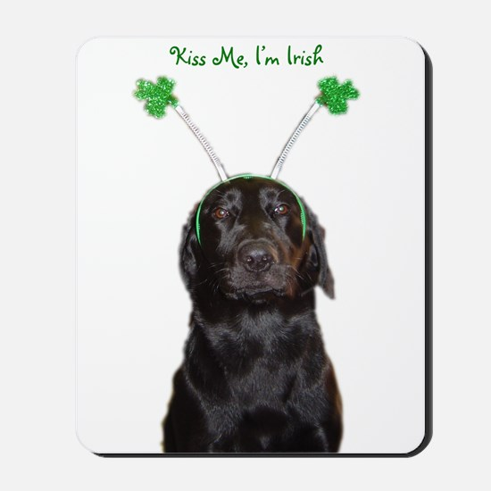 Irish lab Mousepad