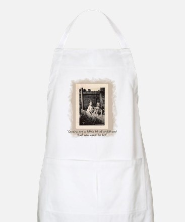 Cousins and Childhood Apron