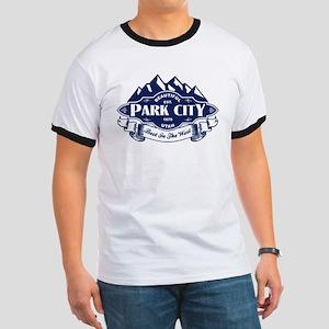 Park City Mountain Emblem Ringer T