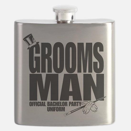 GROOMS MAN BLK.png Flask