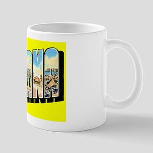 Havana Cuba Greetings Mug
