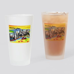 Havana Cuba Greetings Drinking Glass