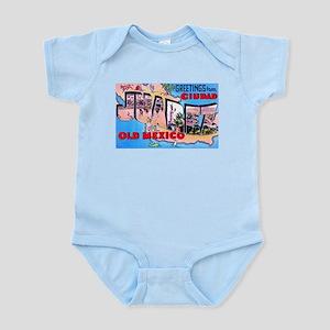 Juarez Mexico Greetings Infant Bodysuit