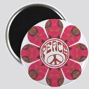Peace Flower - Affection Magnet
