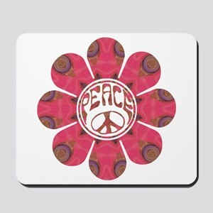 Peace Flower - Affection Mousepad