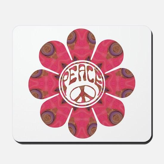 Peace Flower - Affection Mousepad