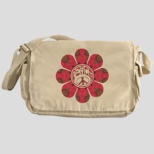Peace Flower - Affection Messenger Bag