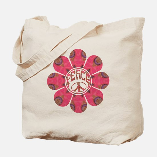 Peace Flower - Affection Tote Bag