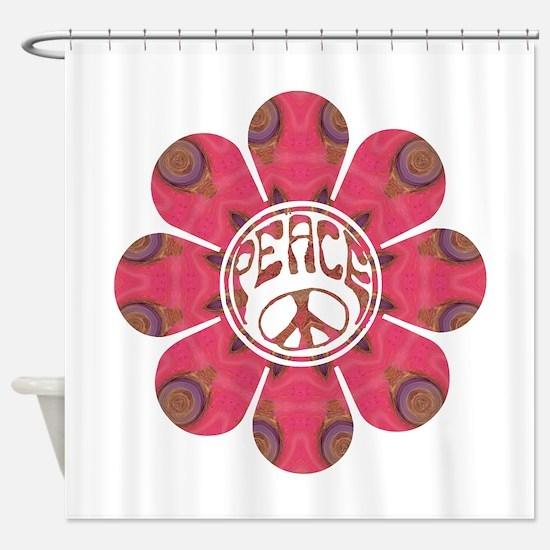 Peace Flower - Affection Shower Curtain