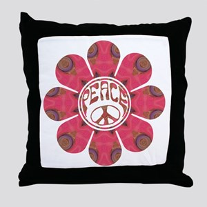 Peace Flower - Affection Throw Pillow