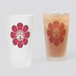 Peace Flower - Affection Drinking Glass