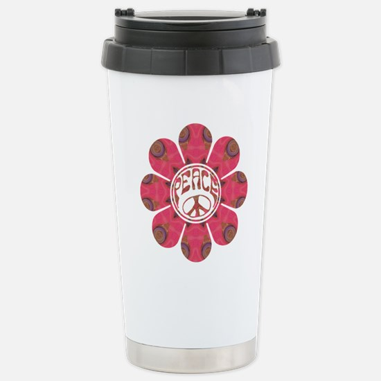 Peace Flower - Affection Stainless Steel Travel Mu