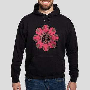Peace Flower - Affection Hoodie (dark)