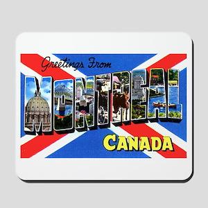Montreal Quebec Canada Mousepad