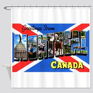 Montreal Quebec Canada Shower Curtain