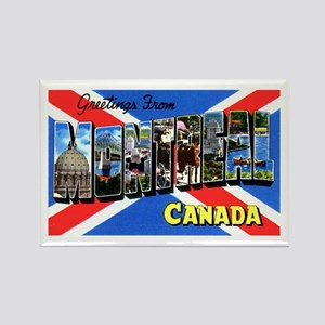 Montreal Quebec Canada Rectangle Magnet