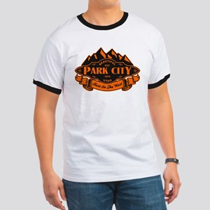 Park City Mountain Emblem Ringer T