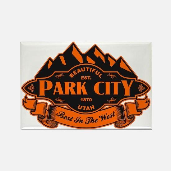 Park City Mountain Emblem Rectangle Magnet