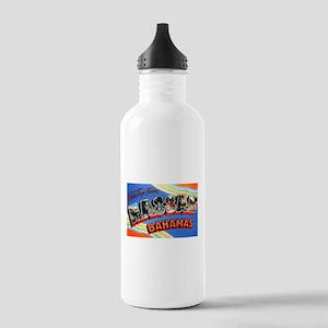 Nassau Bahamas Greetings Stainless Water Bottle 1.