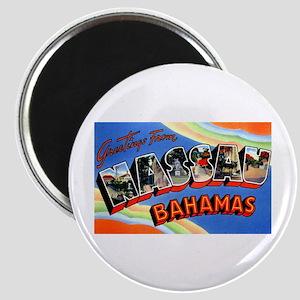 Nassau Bahamas Greetings Magnet