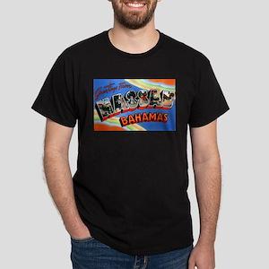 Nassau Bahamas Greetings Dark T-Shirt