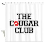 The Cougar Club Shower Curtain