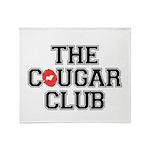 The Cougar Club Throw Blanket