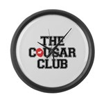 The Cougar Club Large Wall Clock
