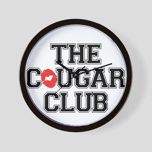 The Cougar Club Wall Clock