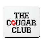 The Cougar Club Mousepad
