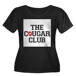 The Cougar Club Women's Plus Size Scoop Neck Dark