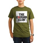 The Cougar Club Organic Men's T-Shirt (dark)