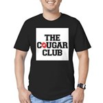 The Cougar Club Men's Fitted T-Shirt (dark)