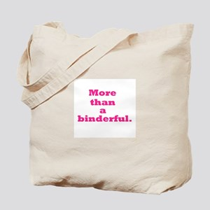 More than a binderful. Tote Bag
